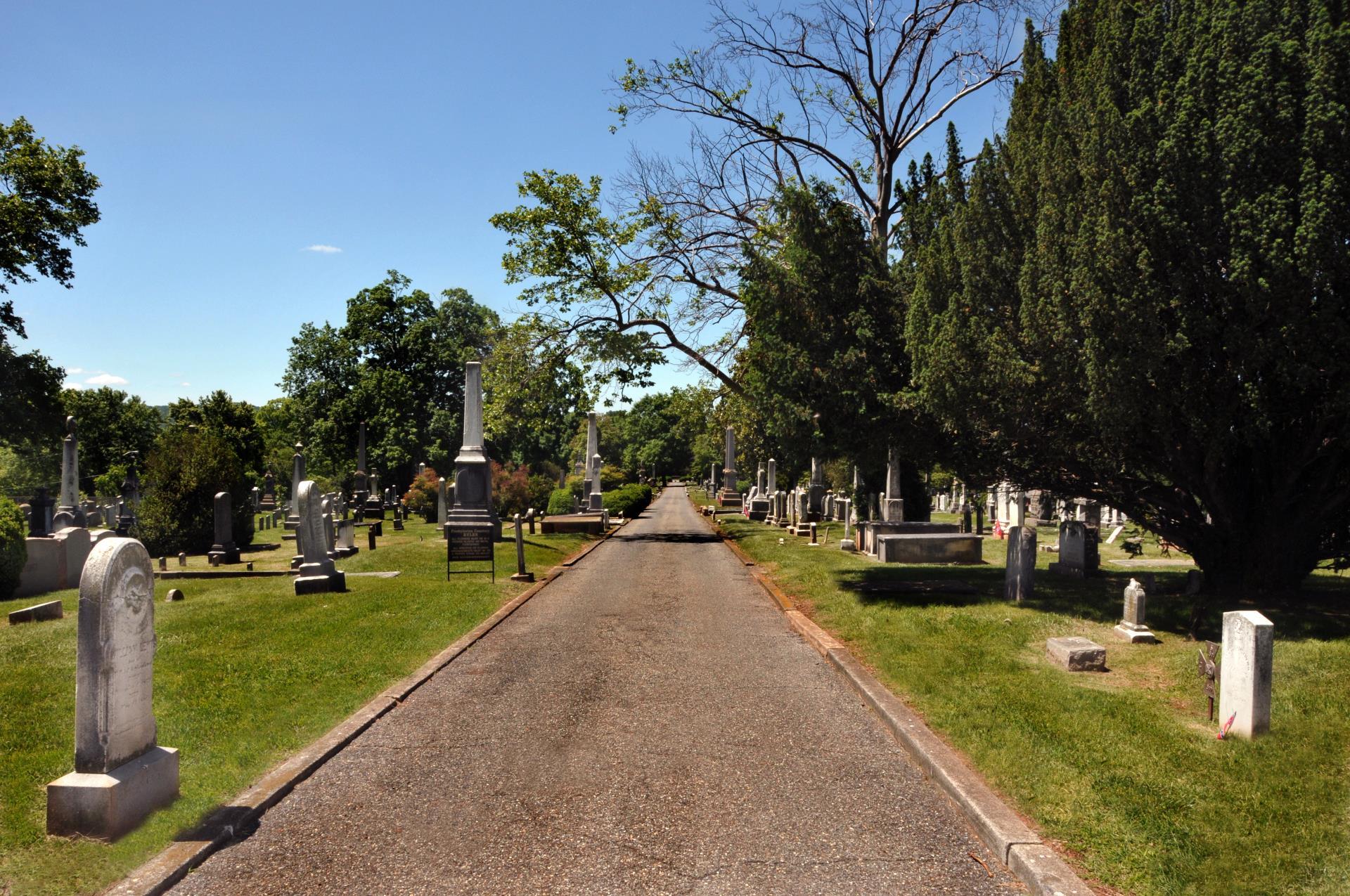 Entrance to Presbyterian Cemetery